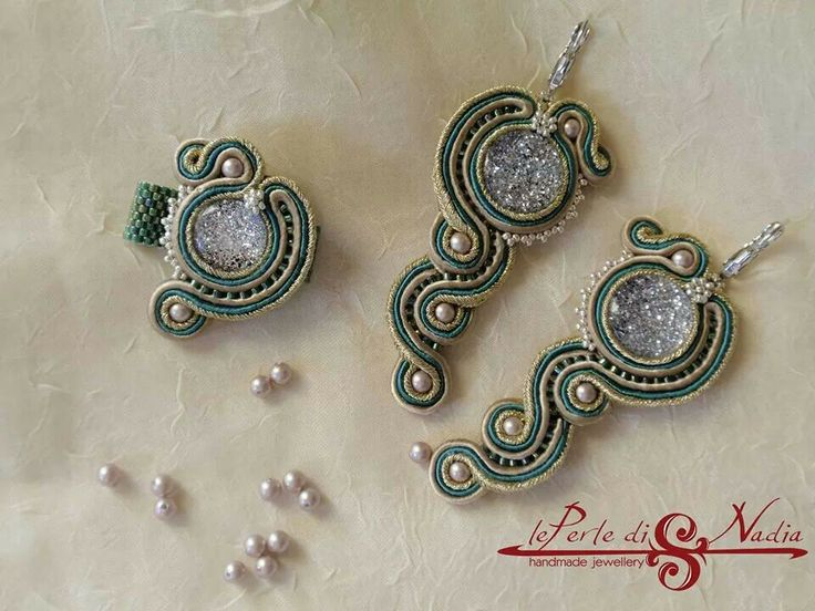 Nice soutache earrings