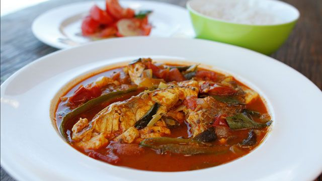Rick Stein's Madras Snapper Curry