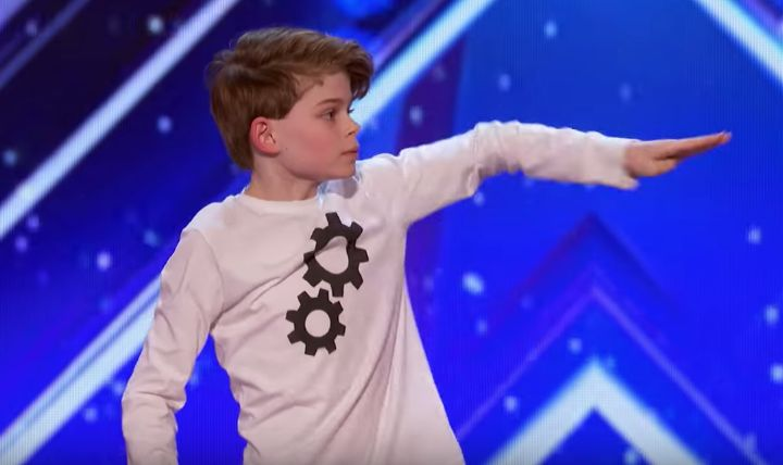 """Merrick Hanna, a 12-year-old boy tell an emotional story through dance, on America's Got Talent Season 12 premiere episode on Tuesday, May 30, 2017. His dance style is robotics hip hop. He's got the body contortions down and the act is more like a mime, as he performed on stage. """"This is one of the best dance performance in this show. It's fantastic, so smart, so clever,"""" said Simon Cowell. """"I don't think anyone cane come up like that,"""" said Howie Mandel. """"I absolutely loved it too. You are…"""