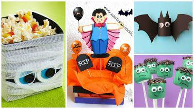 10 Manualidades de dulceros y adornos económicos para halloween ~ cositasconmesh