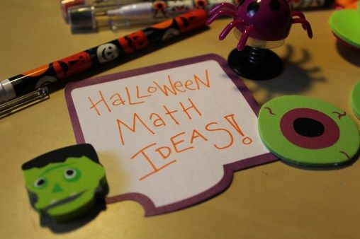 13 easy to implement ways to bring a bit of seasonal fun into the middle school math classroom. Includes free pumpkin exit ticket download & free customizable game template.