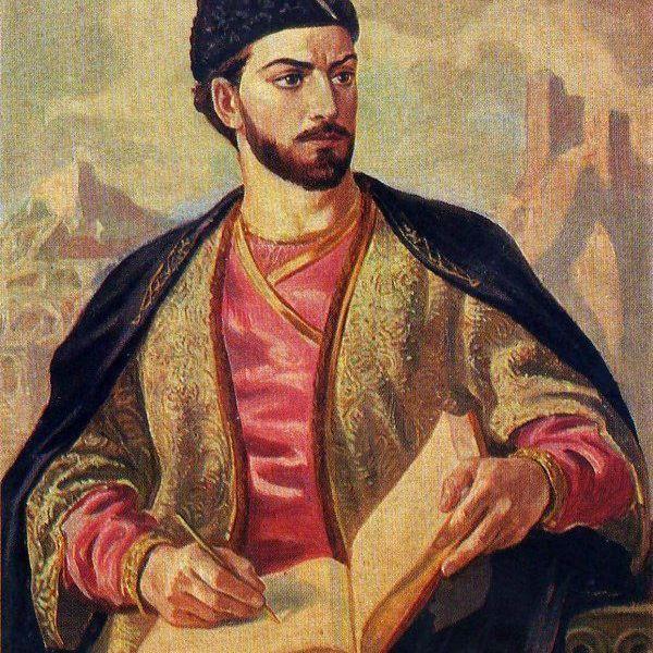 Irakli Toidze. «Shota Rustaveli». 1950. #georgia#saqartvelo#sakartvelo#art#сакартвело#arts#painting#nature#tbilisi#искусство#грузия#кавказ#vsco#vscogeorgia#vscorussia#tbilisi#love#inspiration#colors#вдохновение#тбилиси#signagi#kazbegi#живопись#батуми#batumi#picasso#dali#pirosmani#картины#галерея