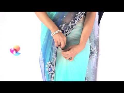 Indo Western Style: Nivi Style...ways of draping the saree with tips to make it easy!