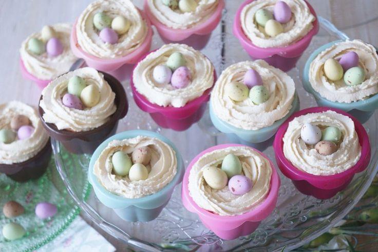 Kodin Kuvalehti – Blogit   Ruususuu ja Huvikumpu – Pääsiäisen parhaat kinuskituorejuusto muffinit on helppo ja nopea valmistaa