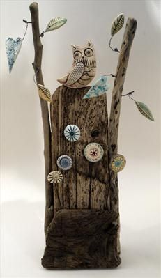 Owl with a view - Shirley Vauvelle