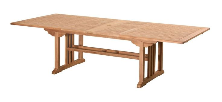 """New Teak 3m Outdoor Rectangle Extension Table """"RO"""" in Home & Garden, Furniture, Tables 