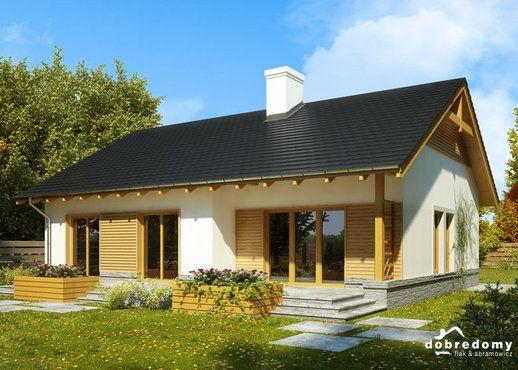 #projekt #dom #parterowy Karina IV, Dobre Domy http://www.domowy.pl/projekty-domow/nowosci/pdd-karina-iv.html