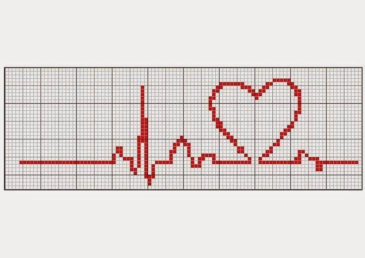 Cross-stitch Beat of My Heart, part 2... s comentários - Dinha Ponto Cruz - bem vindos deixem seu