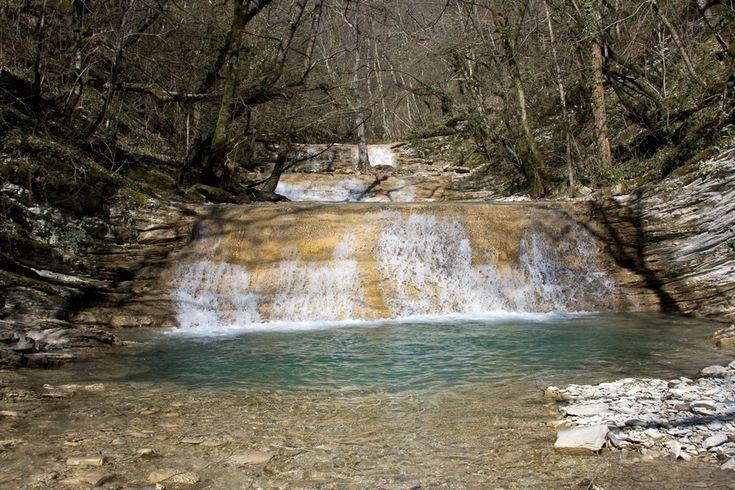 Водопады Плесецкой щели