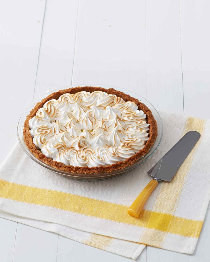 This pie can be topped with either whipped cream or meringue.