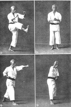 "Hanashiro Chomo, or Hanugusuku Chomu in Okinawan (1869-1945) was an important early Okinawan karate instructor, a top student of Itosu Anko, and one of the major members of the Ryukyu Toudi Kenkyukai (Okinawa Karate Research Society) which included a number of influential early masters. He is the first person known to have used the modern kanji for karate, meaning ""empty hand"", in his 1905 publication ""Karate Shoshu Hen""."