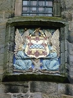 House of Stuart - Armorial tablet of the Stewarts at Falkland Palace, Fife - Wikipedia
