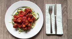 Tonijnballetjes in tomatensaus - Karlijnskitchen.com