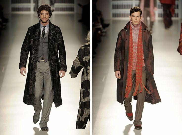 If Dr Who was dressed by Etro, and took the Tardis to the Wild West....