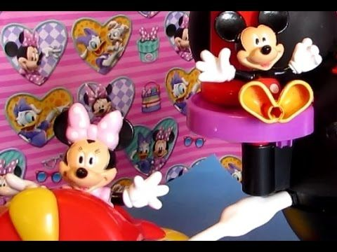 Mickey Mouse Clubhouse Fly and Slide/ Juguetes de Mickey y Minnie