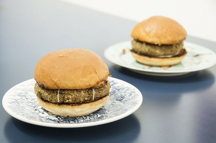 Hambúrguer de Lentilha e Quinoa