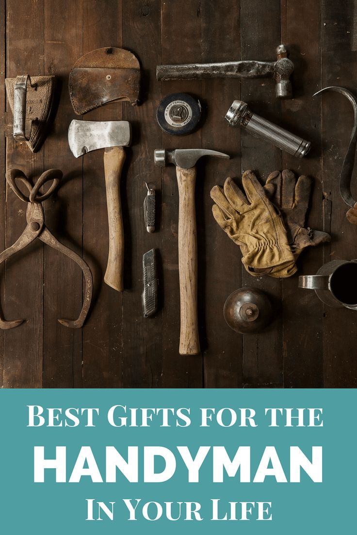 Do you have a handyman on your shopping list? Whether it's work gloves or screwdriver sets, these are the best gifts for the handyman in your life.