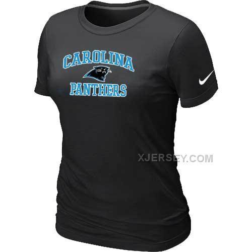 http://www.xjersey.com/carolina-panthers-womens-heart-soul-black-tshirt.html CAROLINA PANTHERS WOMEN'S HEART & SOUL BLACK T-SHIRT Only $26.00 , Free Shipping!