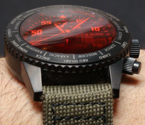 Maurice de Mauriac Chronograph Modern Travel Timer Watch Review