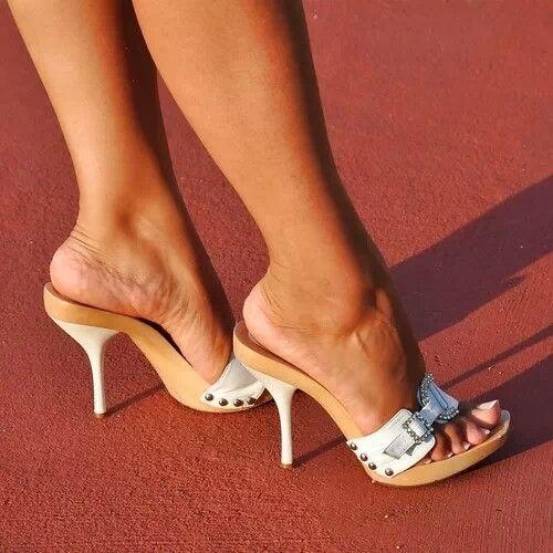 Lady amelia highheels shoes change - 3 part 6