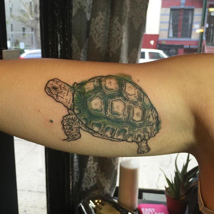Best 25+ Tortoise tattoo ideas on Pinterest | Sea turtle tattoos, Watercolor tattoos and One ...