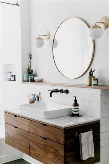 inspiring bathroom decor at home with sophie carpenter rh pinterest com