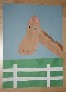 11 best kids activity sheets images on pinterest for Horse crafts for kids