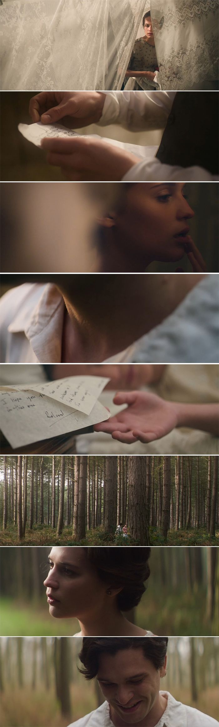 Dreamy cinematography from Testament of Youth (I love the scene in amongst the washing lines!)