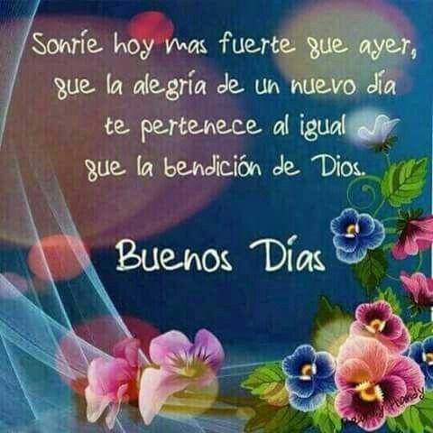 Buen Dia Frases De Buenos Días Good Morning Morning Greeting Y