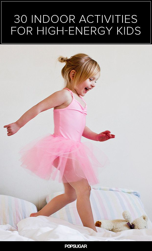 30 Ways For Kids to Use Up Energy Without Leaving the House! Need this really bad, my baby is too young right now.