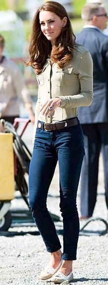 Shirt | Burberry Jeans | J Brand | Kate looks Amazing
