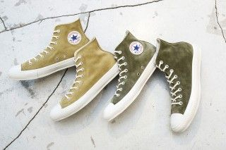 BEAUTY & YOUTH Design Premium Suede Converse Chuck Taylor All Stars