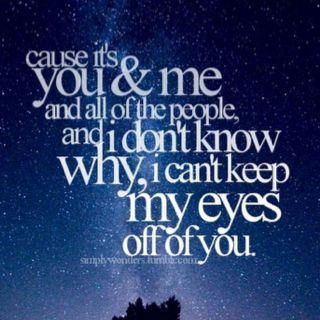you & me <3