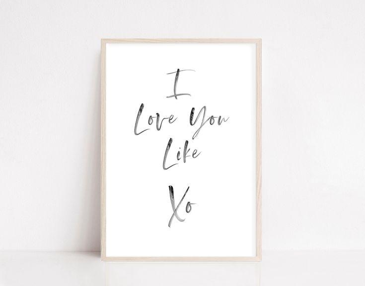 I love you like xo Notebook