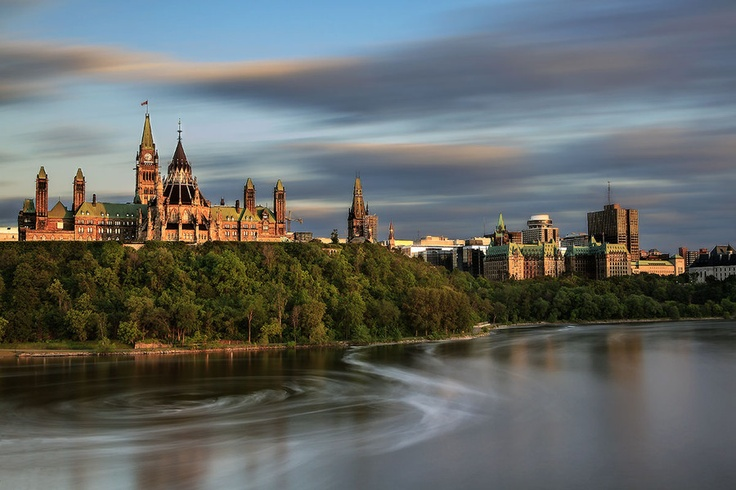 Parliament Hill, Ottawa, Ontario, Canada | by Maryus Bio, via 500px