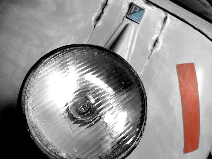"""Piaggio Ape """"Faro Basso"""" Lampe unten - by FTW #Piaggioape #Piaggio #Ape #Farobasso #Faro #Basso #Vespacar"""