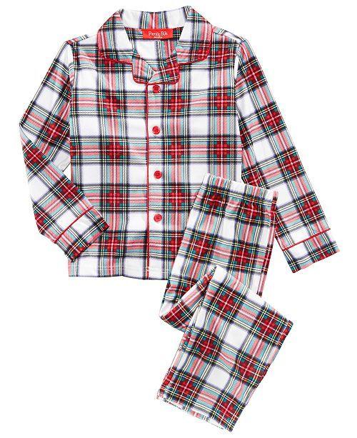 c827de9478 Matching Family Pajamas Stewart Plaid Pajama Set
