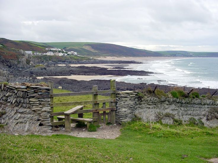 Croyde, Woolacombe and Mortehoe on the South West Coast Path are in the National Trust managed area. photo: Robert Bovington