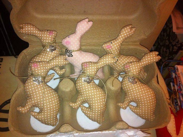 Easter bunnies everywhere