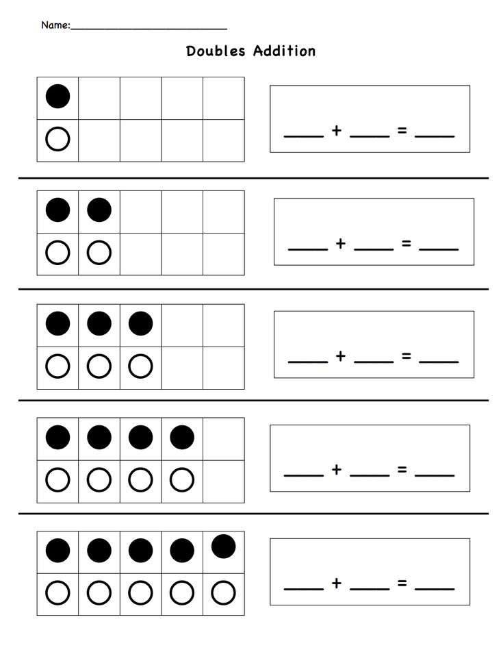 Math Facts Worksheets Multiplication Doubles St Grade And