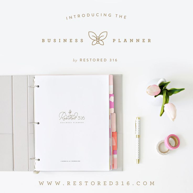 I am loving the new Business Planner by Restored 316! If you're trying to keep track of your to-do list and stay organized, you should check this out! {affiliate link}
