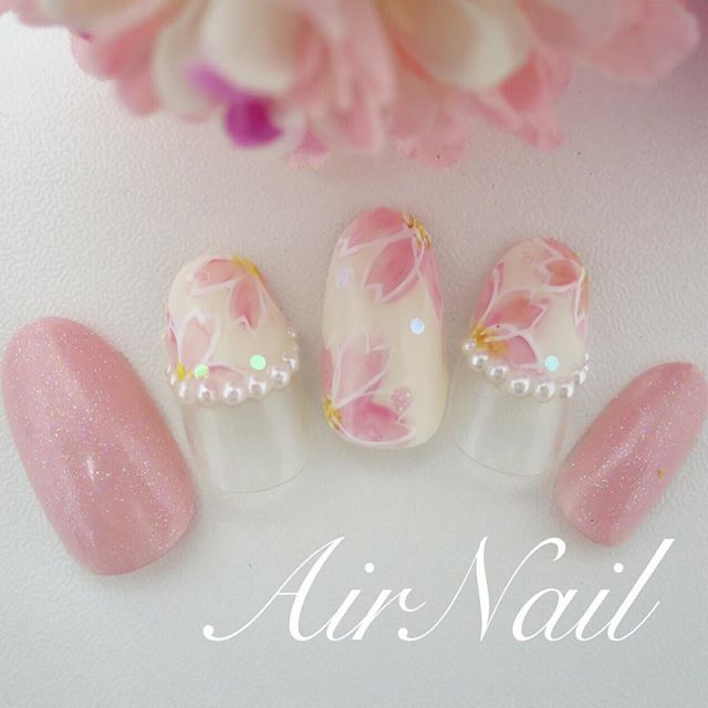 春のシンプルネイル♡ ピンク色のシンプルネイルデザイン画像100選♡ | Jocee