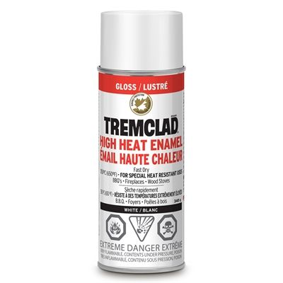 Tremclad 340g Gloss High Heat Enamel Spray Paint