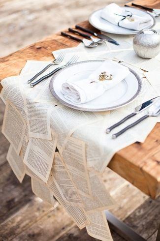 16 DIY Wedding Table Runner Ideas   Confetti Daydreams