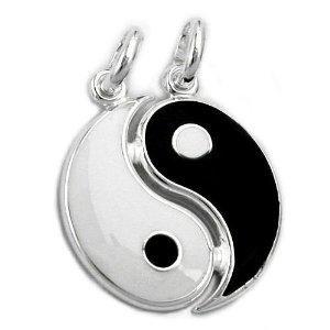 : Friendshipcoupl Necklaces, Yin Yang Friendship Couple, Friendship Couple Necklaces, Pendants, Yinyang Friendshipcoupl, Yang Yo, 925, Yang Things, Alps