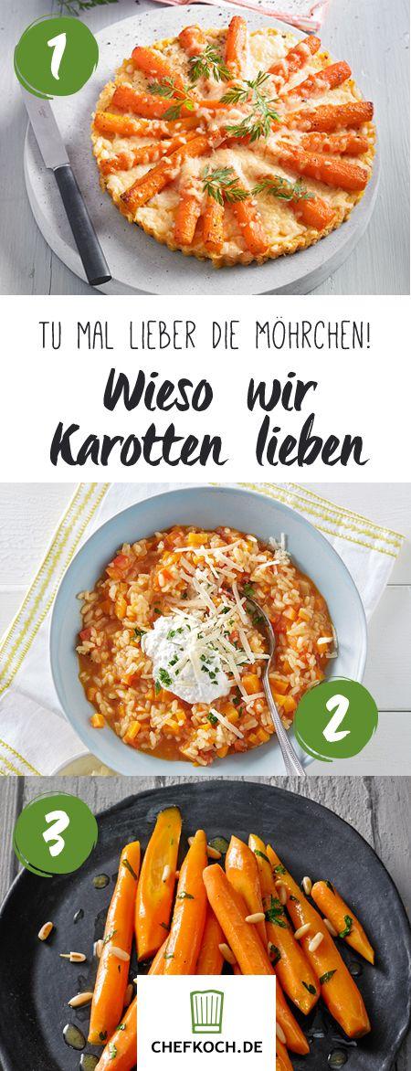 Suppe, Salat, Kuchen aus Möhren – ausprobieren!