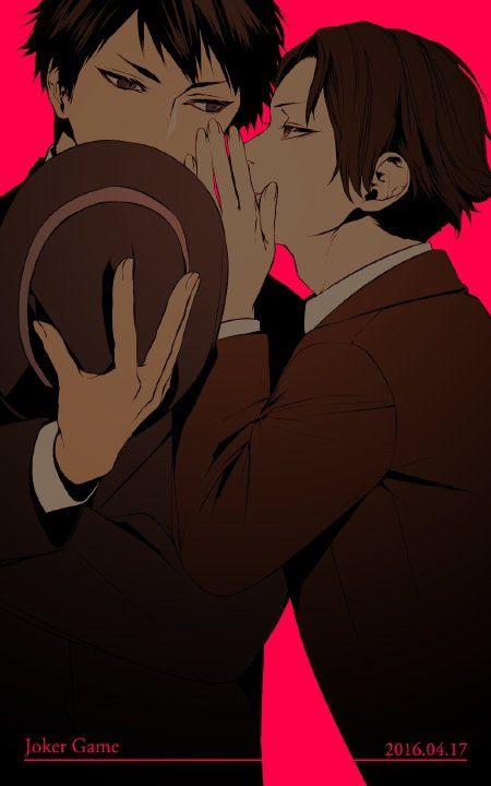Sakuma  x Miyoshi (Joker Game)