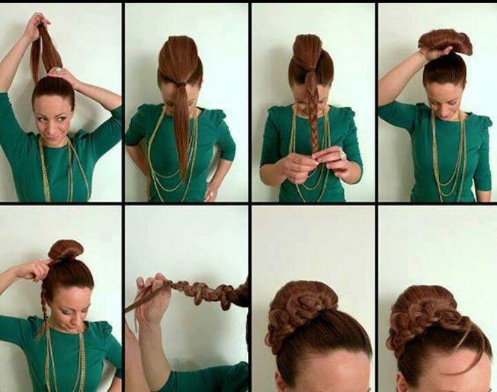 peinado facil pe pe peluquita pinterest peinado fcil peinados y cabello