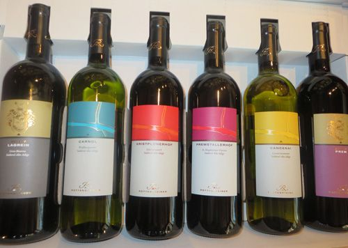 Some of our wines from the #cru and the #select line #Rottensteiner #winelovers