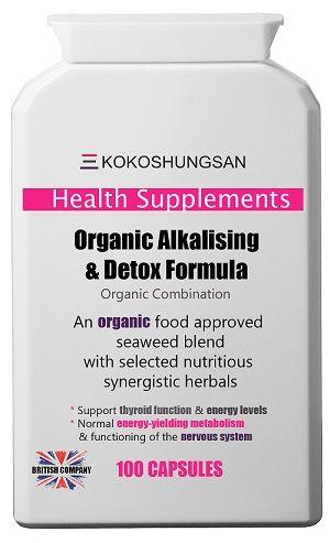 KOKOSHUNGSAN Organic Alkalising & Detox Formula